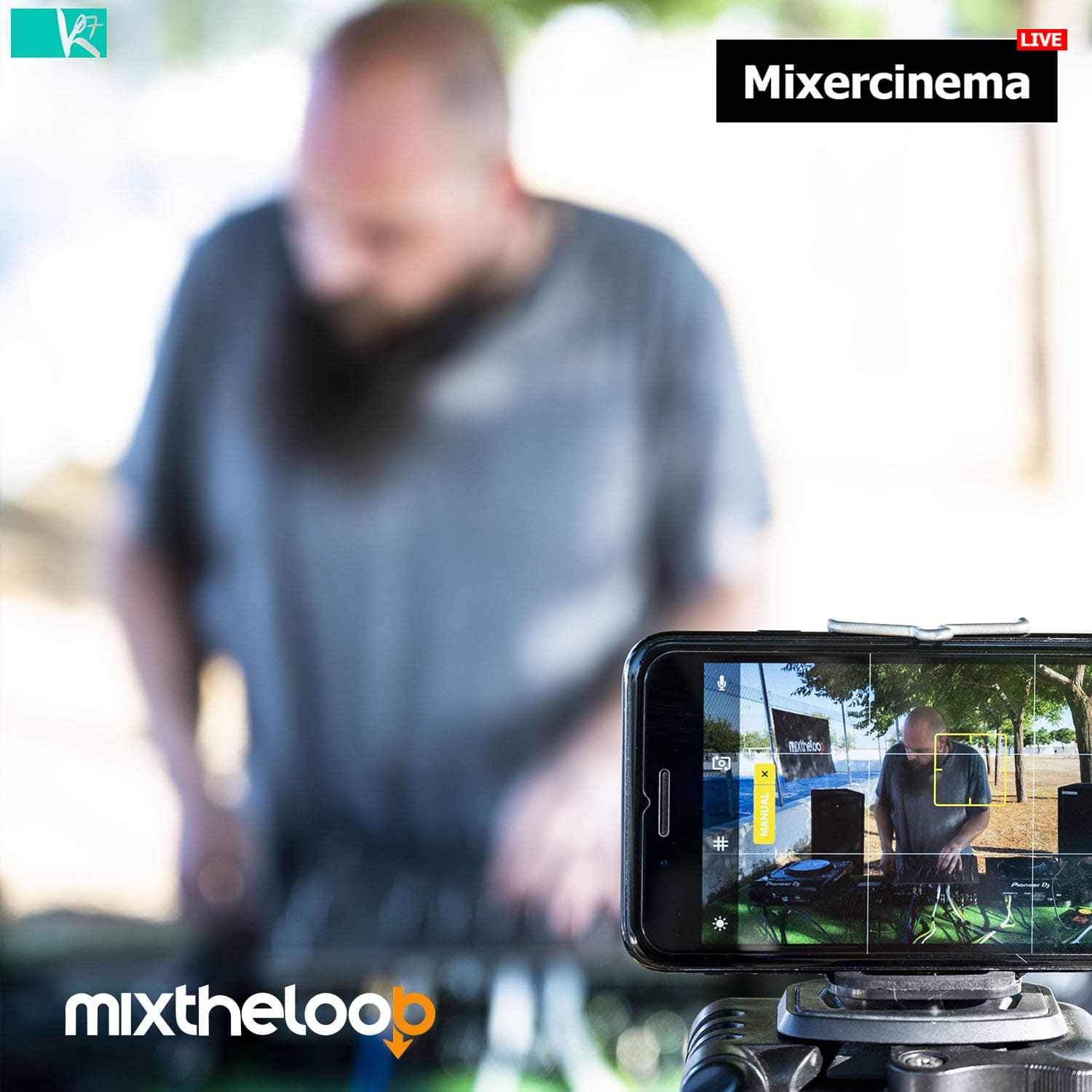 Mixercinema @ Mixtheloop's live streaming 27.06.20